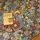 Текстиль, ковры ручной работы. Заказать Лоскутное покрывало-плед Вселенная за окном. ВесНа-таша. Ярмарка Мастеров. вселенная
