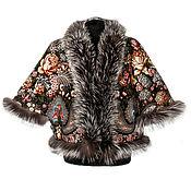 handmade. Livemaster - original item Jacket with fur of Fox. Handmade.