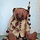 Мишки Тедди ручной работы. Ярмарка Мастеров - ручная работа. Купить Короли, шуты и пешки. Handmade. Разноцветный, шут, опилки