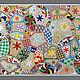 Абстракция ручной работы. Ярмарка Мастеров - ручная работа. Купить Самая большая в мире картина вышитая бисером. Handmade.