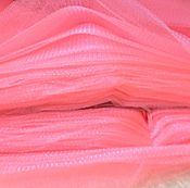 Материалы для творчества ручной работы. Ярмарка Мастеров - ручная работа фатин неоновый розовый. Handmade.
