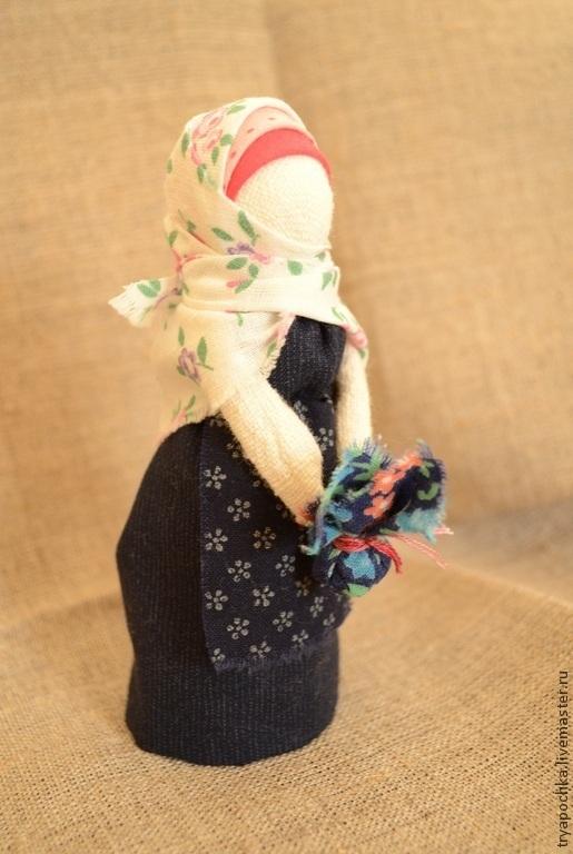 Народные куклы ручной работы. Ярмарка Мастеров - ручная работа. Купить Куколка-подорожница. Handmade. Подорожница, хлопок, народная игрушка