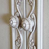 Для дома и интерьера ручной работы. Ярмарка Мастеров - ручная работа Шкаф трехстворчатый деревянный с ручной резьбой. Handmade.