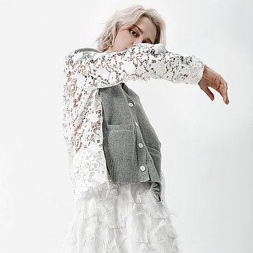 Одежда ручной работы. Ярмарка Мастеров - ручная работа Креативная кофта для модниц.. Handmade.