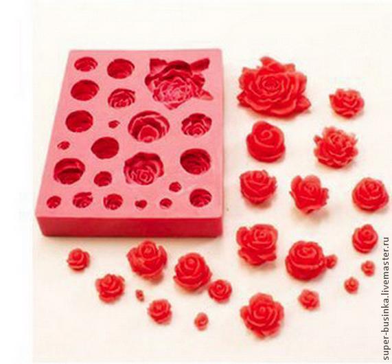 силиконовые формы дл¤ декорации тортов как использовать