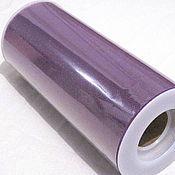 Материалы для творчества ручной работы. Ярмарка Мастеров - ручная работа Фиолетовый (purple) Нейлоновый фатин в роллах. Handmade.