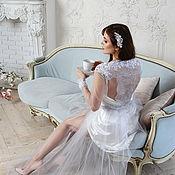 """Свадебный салон handmade. Livemaster - original item Boudoir dress """" Marengo"""". Handmade."""