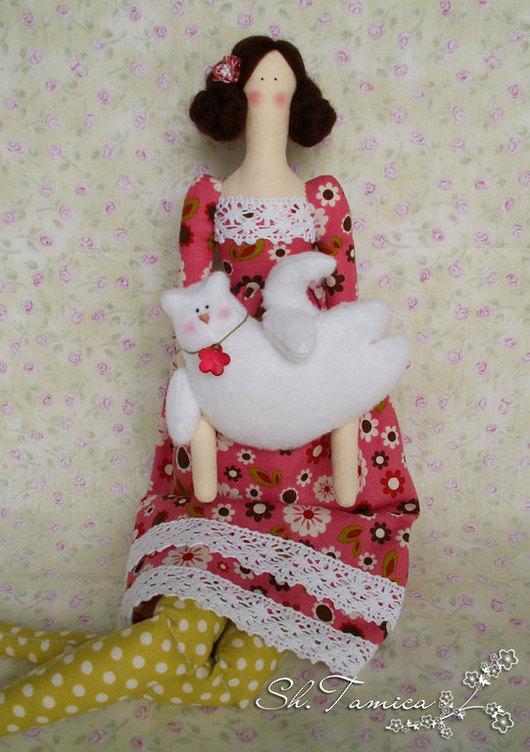 Куклы Тильды ручной работы. Ярмарка Мастеров - ручная работа. Купить Тильда Сьюзи. Handmade. Кукла Тильда, текс, шерсть