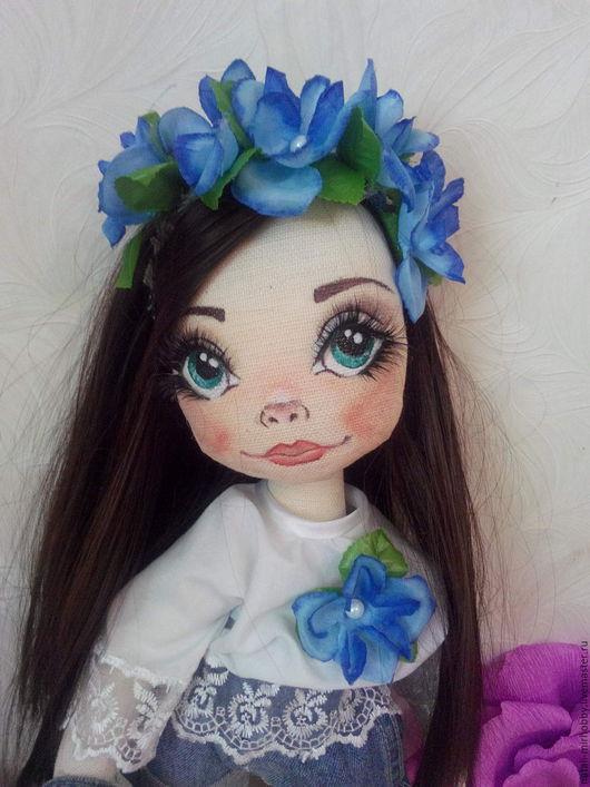 Коллекционные куклы ручной работы. Ярмарка Мастеров - ручная работа. Купить КИРЮША!!! Текстильная кукла. Handmade. Кукла, кукла для девочки