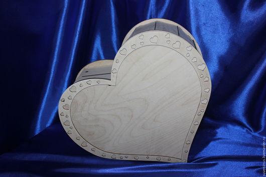 """Свадебные аксессуары ручной работы. Ярмарка Мастеров - ручная работа. Купить Шкатулка """"Сердце"""". Handmade. Комбинированный, свадьба, для свадьбы"""