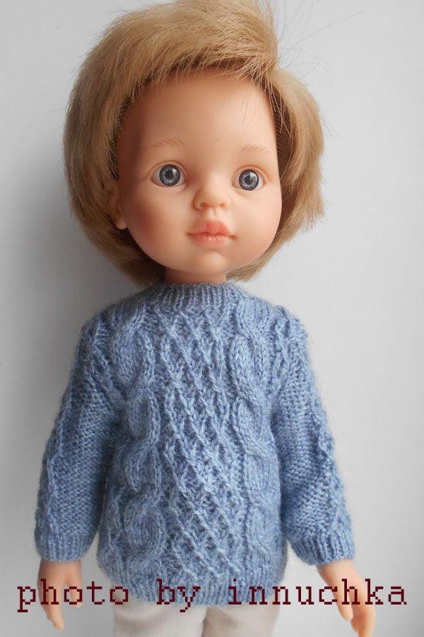 Свитер для мальчика Паола Рейна, Одежда для кукол, Санкт-Петербург,  Фото №1