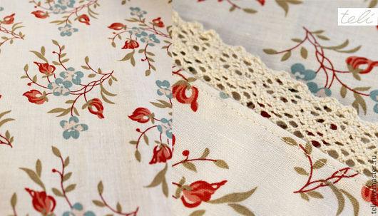 Текстиль, ковры ручной работы. Ярмарка Мастеров - ручная работа. Купить Кухонная скатерть из ткани бренда Laura Ashley. Handmade.