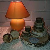 Спилы дерева ручной работы. Ярмарка Мастеров - ручная работа Набор спилов для творчества. Handmade.
