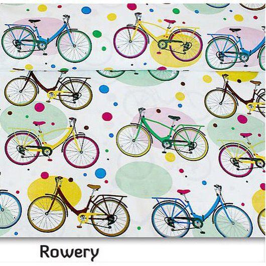 Шитье ручной работы. Ярмарка Мастеров - ручная работа. Купить Ткань хлопок 100% велосипеды пастель. Handmade. Хлопок 100%