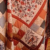 """Для дома и интерьера ручной работы. Ярмарка Мастеров - ручная работа Лоскутное одеяло """"Мечты о МОРРИСЕ"""". Handmade."""