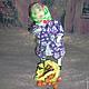 Коллекционные куклы ручной работы. Приехали внуки- уехали внуки( бабушка, текстильная кукла). Скрипка Лада. Интернет-магазин Ярмарка Мастеров.