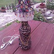 Настольные лампы ручной работы. Ярмарка Мастеров - ручная работа Лампа настольная Великолепный век. Handmade.