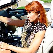 """Одежда ручной работы. Ярмарка Мастеров - ручная работа Леопардовая блуза в комплекте с юбкой""""Леди"""". Handmade."""
