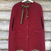 Одежда handmade. Livemaster - original item Felted Cape