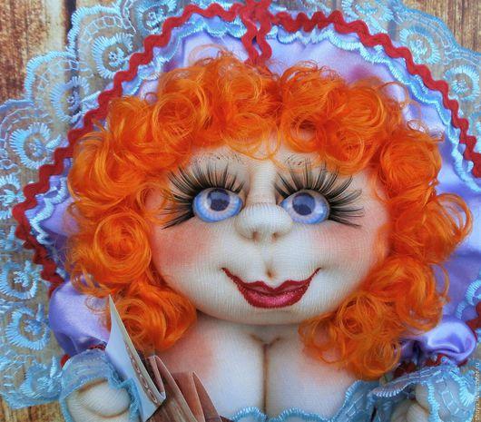 Человечки ручной работы. Ярмарка Мастеров - ручная работа. Купить Кукла на Удачу. Handmade. Сиреневый, кукла на удачу, сувениры и подарки