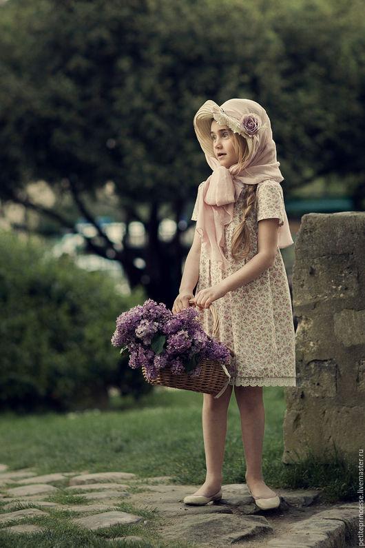 """Одежда для девочек, ручной работы. Ярмарка Мастеров - ручная работа. Купить платье """"Варенька"""". Handmade. Бледно-розовый, нарядное платье"""