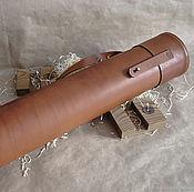 Сумки и аксессуары handmade. Livemaster - original item Leather sheath, leather sheath. Handmade.