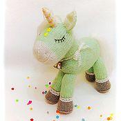 Куклы и игрушки handmade. Livemaster - original item Unicorn crochet toy. Handmade.