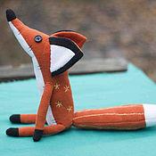 """Мягкие игрушки ручной работы. Ярмарка Мастеров - ручная работа Мини-Лис из мульта """"Маленький принц""""  23 см. Handmade."""