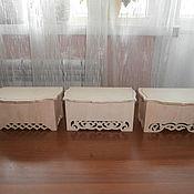 Материалы для творчества handmade. Livemaster - original item Box 632, 634, 639. Handmade.