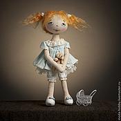 """Материалы для творчества ручной работы. Ярмарка Мастеров - ручная работа Набор для шитья """"Кукла Ксюша"""". Handmade."""