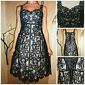 "Одежда handmade. Livemaster - original item Dress ""Black Swan"". Handmade."