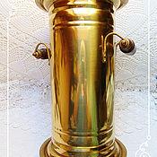 Предметы интерьера винтажные ручной работы. Ярмарка Мастеров - ручная работа Винтажная латунная зонтовница или напольная ваза, Австрия. Handmade.