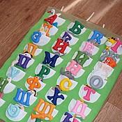 Куклы и игрушки ручной работы. Ярмарка Мастеров - ручная работа Фетровый алфавит. Handmade.