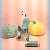 Куклы и игрушки ручной работы. Ярмарка Мастеров - ручная работа Миниатюрный котёнок ( 9 см ). Handmade.