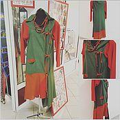 """Одежда ручной работы. Ярмарка Мастеров - ручная работа платье """"комби"""". Handmade."""