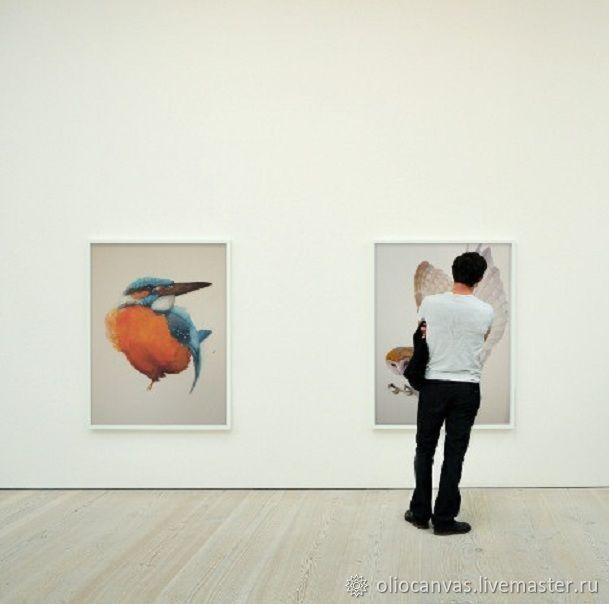 """Картина маслом """"Райская птица"""" 65х65 см, Картины, Санкт-Петербург, Фото №1"""
