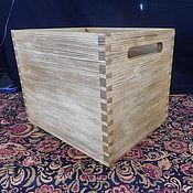 Для дома и интерьера handmade. Livemaster - original item Storage box with slotted handle. Handmade.