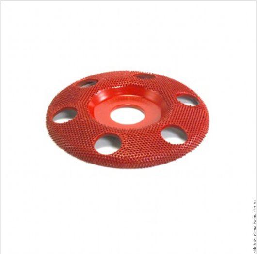 Другие виды рукоделия ручной работы. Ярмарка Мастеров - ручная работа. Купить Рашпильный диск для болгарки плоский средний. Handmade.