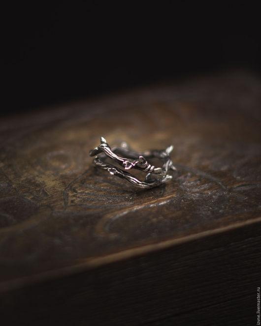 """Кольца ручной работы. Ярмарка Мастеров - ручная работа. Купить Кольцо """"Терновая ветвь"""", серебро.. Handmade. Серебряный, изящное кольцо"""