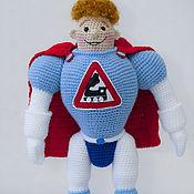 Куклы и игрушки handmade. Livemaster - original item Arkady Locomotives (35 cm) toy gift boy. Handmade.