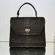 Сумки и аксессуары handmade. Livemaster - original item Bag made of Python AXELLE. Handmade.