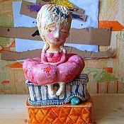 """Для дома и интерьера ручной работы. Ярмарка Мастеров - ручная работа статуэтка """"Принцесса на горошине"""". Handmade."""