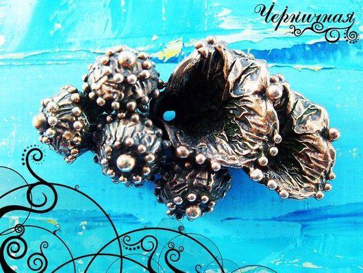 Для украшений ручной работы. Ярмарка Мастеров - ручная работа. Купить Вальс цветов 0836-450 (1). Handmade. Коричневый