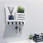 Для дома и интерьера handmade. Livemaster - original item Key holders wall: Scandi. Handmade.