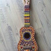Для дома и интерьера ручной работы. Ярмарка Мастеров - ручная работа Гитара. Handmade.