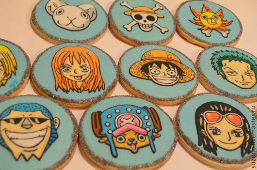 Кулинарные сувениры ручной работы. Ярмарка Мастеров - ручная работа. Купить One Piece. Handmade. Голубой, нами, чоппер, санни