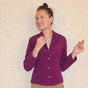 """Одежда ручной работы. Ярмарка Мастеров - ручная работа Жакет из шерсти """"Valeri"""". Handmade."""