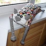 """Для дома и интерьера ручной работы. Ярмарка Мастеров - ручная работа Игрушка-подушка """"Радужный кот"""" собачья жизнь. Handmade."""