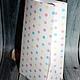 """Подарочная упаковка ручной работы. Заказать Упаковочный пакетик с рисунком """"Пастель"""". ИграМуз (igramus). Ярмарка Мастеров. Упаковка, упаковка для украшений"""