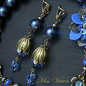 Украшения handmade. Livemaster - original item Genevieve earrings. Handmade.